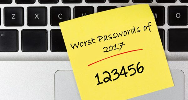 Worst Passwords of 2017