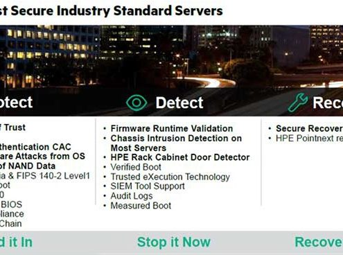 worlds most secure industry standard servers