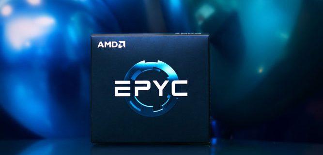 AMD EPYC2 667x321 - پردازنده ۳۲ هستهای AMD EPYC 7452 ظاهر شد