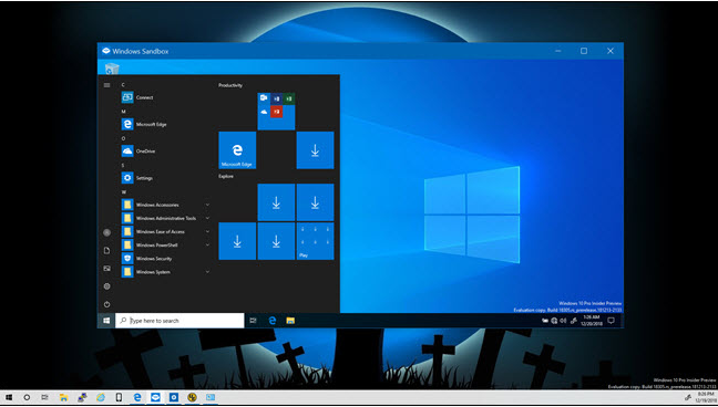 sb3 - Windows Sandbox