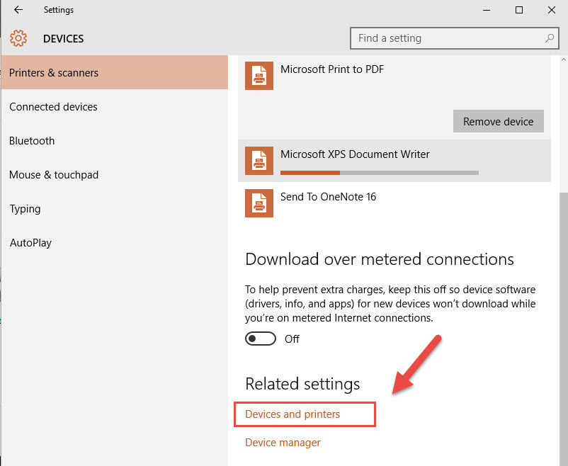 q - Install and uninstall  printer in Windows 10