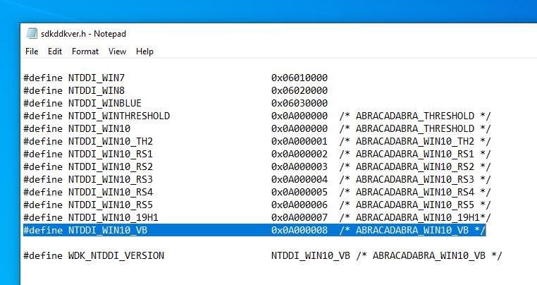 vibranium2 - نسخه بعدی ویندوز ۱۰ با کد نام Vibranium ارائه میشود