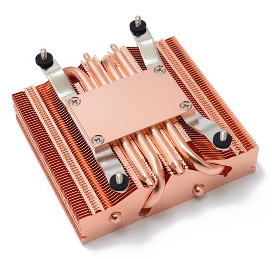 axp 90 full copper - کولر پردازنده تمام مسی Thermalright AXP-90 Full Copper معرفی شد
