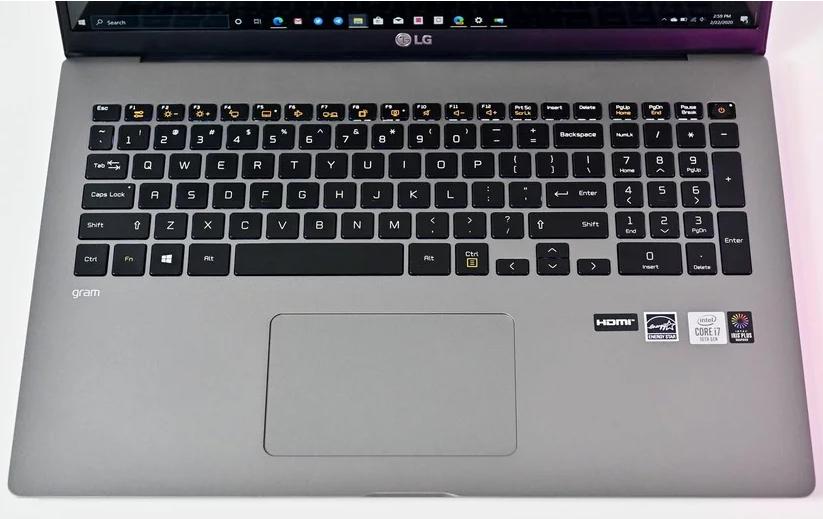 لپ تاپ lg سری gram