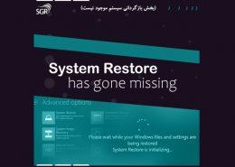 بازگردانی سیستم در ویندوز10
