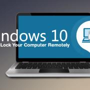 قفل کردن کامپیوتر از راه دور